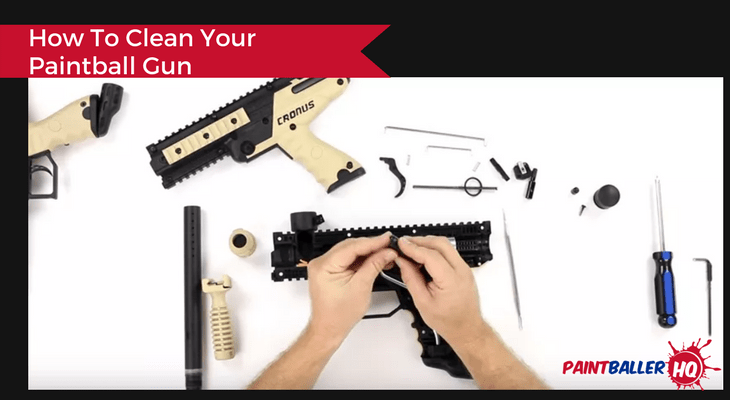How To Clean Your Paintball Gun