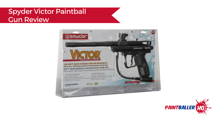 Spyder Victor Paintball Gun Review