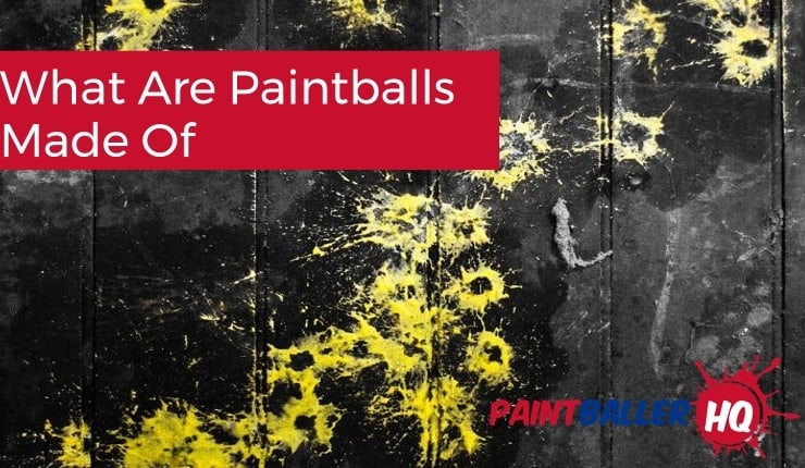 paintball splattered on the wall