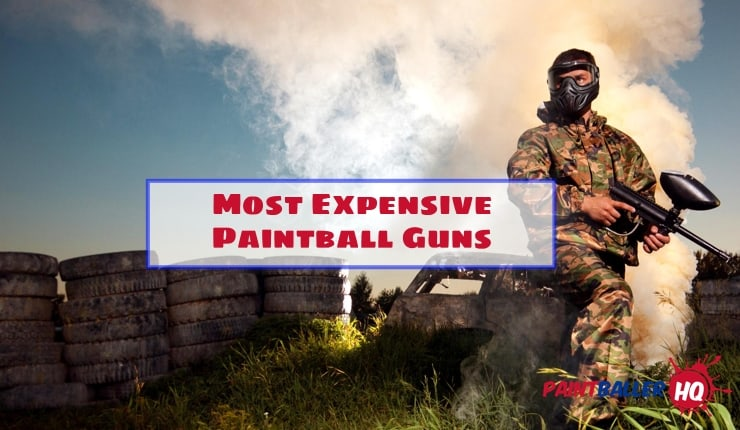 Man with most expensive paintball gun