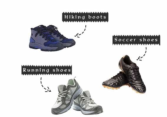 paintball footwear